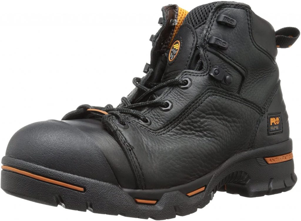 Timberland PRO Men's Endurance​ Steel-Toe​ Work Boot- Puncture Resistant, Waterproof