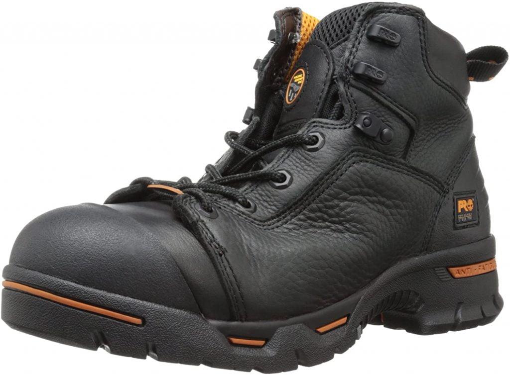 Timberland PRO Men's Endurance Steel-Toe Work Boot- Puncture Resistant, Waterproof
