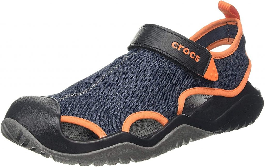 Crocs Men's Swift water Mesh Deck Sandal Sport
