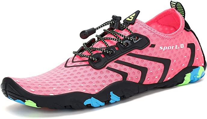 Mishansha Men's Women's Water Shoes Quick-Dry Barefoot Beach Walk Shoes