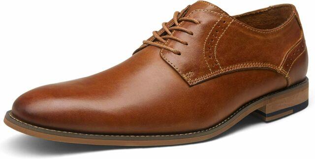 JOUSEN VALYRAIN Leather Men's Dress Shoes Retro Oxford for Men