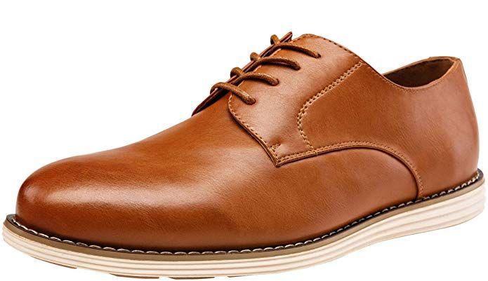 VOSTEY Men's Dress Oxford Shoes
