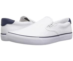 Canvas slip-on shoe